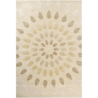 Hand-tufted Oleander New Zealand Wool Rug (7'9 x 10'6)