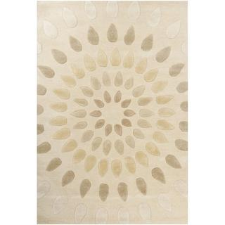 Hand-tufted Oleander New Zealand Wool Rug (9&#39; x 13&#39;)