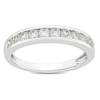 Miadora Certified 14k Gold 1ct TDW Diamond Wedding Band Ring (G-H, SI1)