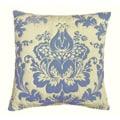 Damask Blue Pillow