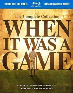 When It Was a Game: The Complete Collection (Blu-ray Disc)