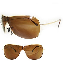 SWG Women's 5192 Gold Aviator Sunglasses