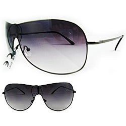 SWG Women's 5192 Black Aviator Sunglasses