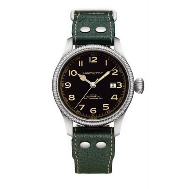 Hamilton Men's Khaki Team Earth Watch