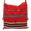 Cotton 'Rajasthan Rapture' Medium Shoulder Bag (India)