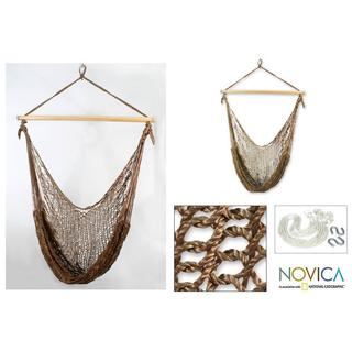Nylon Autumnal Bronze Hammock Swing (Mexico)
