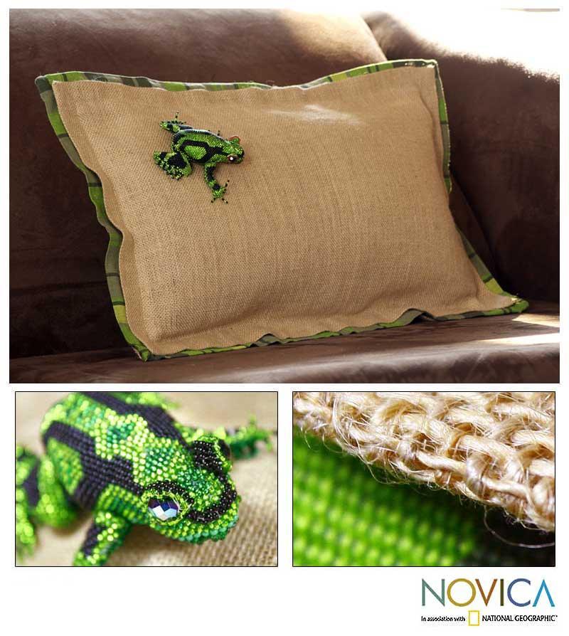 Jute 'Nature' Cushion Cover (Guatemala)