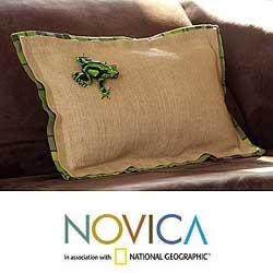 Jute 'Nature' Cushion Cover (Guatemala)