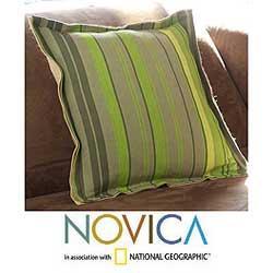 Jute and Cotton 'Pajapita' Cushion Cover (Guatemala)