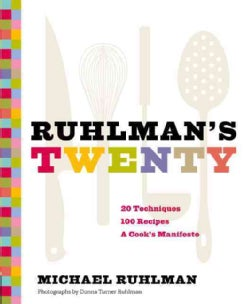 Ruhlman's Twenty: The Ideas and Techniques That Will Make You a Better Cook (Hardcover)