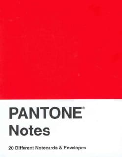 Pantone Notes: 20 Different Notecards & Envelopes (Cards)