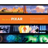 The Art of Pixar: The Complete Colorscripts and Select Art from 25 Years of Animation (Hardcover)
