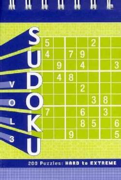 Sudoku: 200 Puzzles: Hard to Extreme (Paperback)