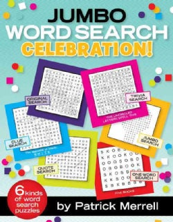 Jumbo Word Search Celebration (Paperback)