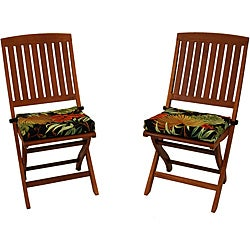 All-Weather UV-Resistant Outdoor Folding Chair Pads (Pack of Two)