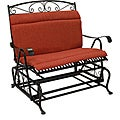 Blazing Needles All-weather Outdoor Double Glider Chair Cushion