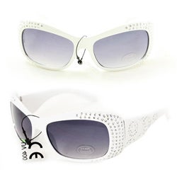 Kid's K5066 White Plastic Fashion Sunglasses
