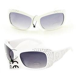 Kid's K5066 White Plastic Fashion Sunglasses