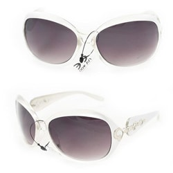 Women's 1119 Silver Two-tone Fashion Sunglasses