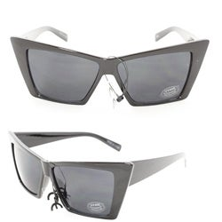 Women's 2869 Black Plastic Fashion Sunglasses