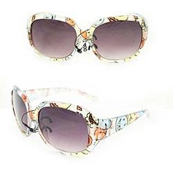 Kid's K3111 Clear Plastic Fashion Sunglasses