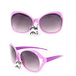 Kid's K3117 Pink/ Purple Plastic Fashion Sunglasses