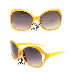 Kid's K3117 Orange/ Yellow Plastic Fashion Sunglasses