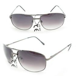 Men's 7837 Black Wrap Sunglasses