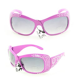 Kid's K5066 Purple Plastic Fashion Sunglasses