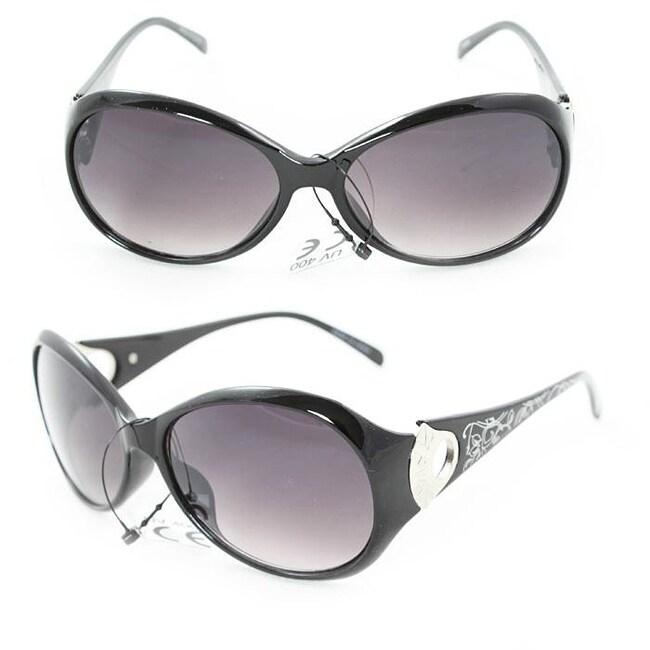 Women's 91008 Black Fashion Sunglasses