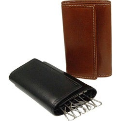 Costello Men's Colombo Leather Tri-fold Key Holder Wallet