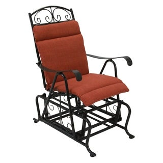 Blazing Needles All-weather Single Glider Chair Outdoor Cushion