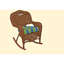 All-Weather U-Shaped UV-Resistant Outdoor Rocker Chair Cushion