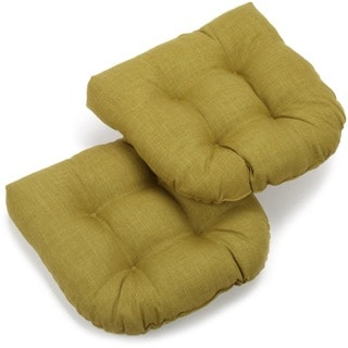 All-Weather UV-Resistant U-shaped Outdoor Chair Cushions (Set of 2)