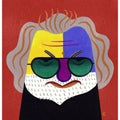 David Cowles 'Jerry' Canvas Art