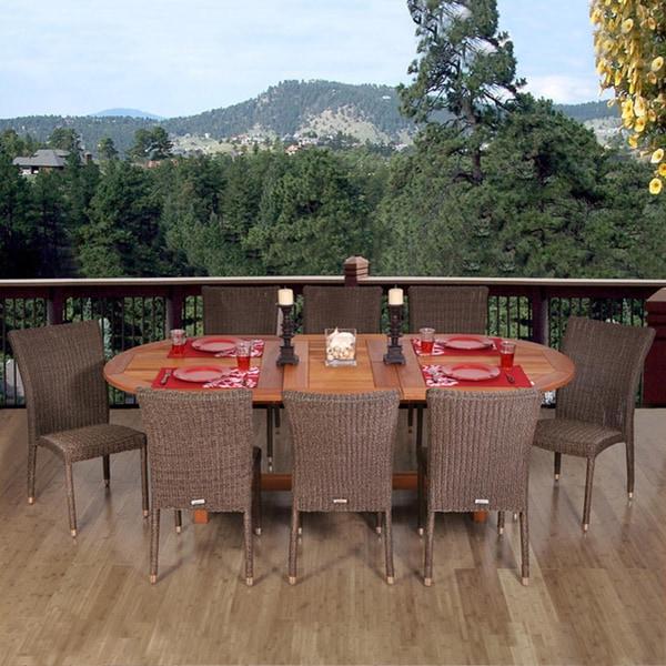 Amazonia Sardinia 9-piece Dining Set