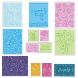 Sizzix Textured Impressions Value Kit 2