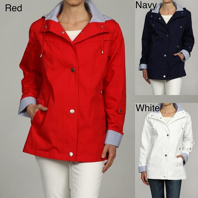 Mackintosh Women's Water-resistant Hooded Jacket