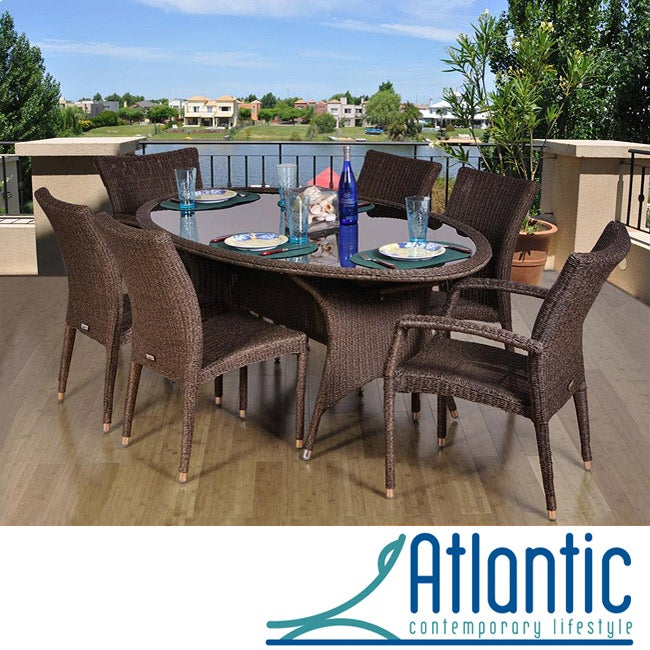 Atlantic Catania Oval 7-piece Dining Set at Sears.com