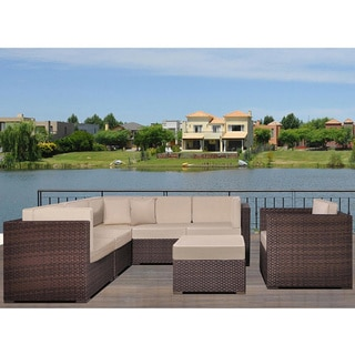 New York 'Deluxe' 7-piece Sectional Set