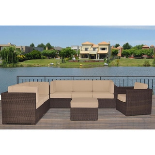 Naples 'Deluxe' 7-piece Sectional Set