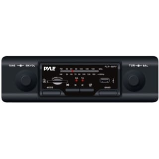 Pyle PLR14MPF Marine Flash Audio Player - 160 W RMS - Single DIN