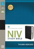 Holy Bible: New International Version Black Top Grain Leather Study Bible (Paperback)