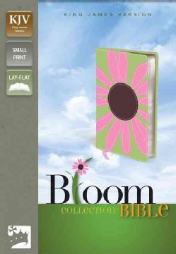 Holy Bible: King James Version, Pink Daisy, Italian Duo-Tone, Thinline Bloom Collection Bible (Paperback)