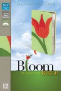 Holy Bible: New International Version Red Tulip Italian Duo-Tone Thinline Bloom Collection Bible (Paperback)