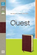 Quest Study Bible: New International Version, Burgundy, Bonded Leather, The Question & Answer Study Bible (Paperback)