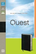 Quest Study Bible: The Question & Answer Study, New International Version, Black Bonded Leather (Paperback)