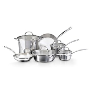 Farberware Millennium Tulip Shaped Stainless Steel 10-piece Cookware Set with $20 Mail-in Rebate