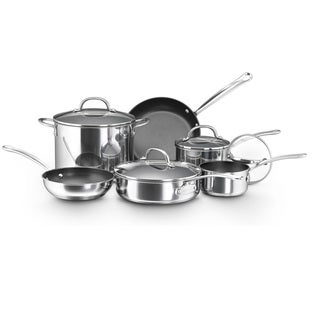 Farberware Millennium Nonstick Stainless Steel 10-piece Cookware Set with $20 Mail-in Rebate