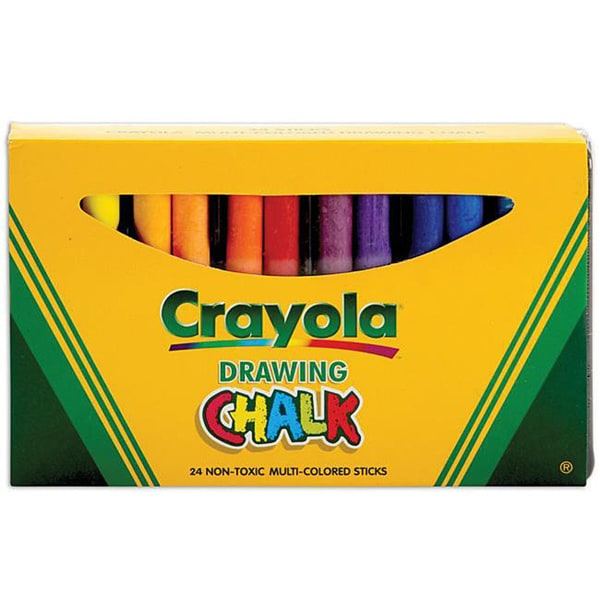 Crayola Assorted Color 24-piece Art Chalk Set